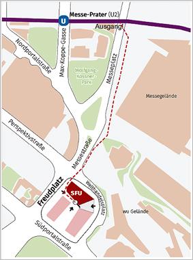 Anbindung der SFU an die U-Bahn